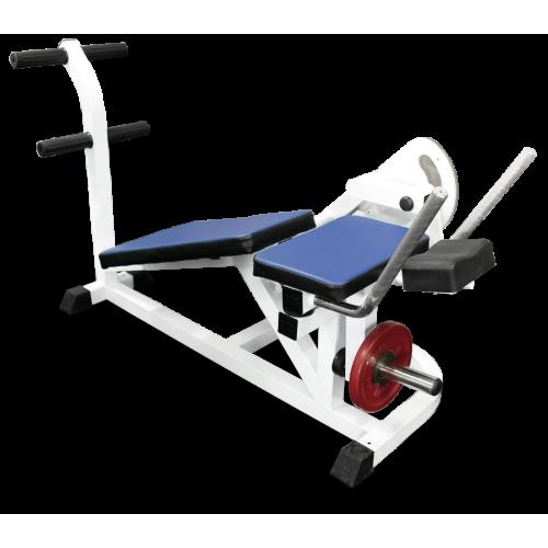 Пресс-машина, скручивание свободные веса MB 4.14 серый MB Barbell