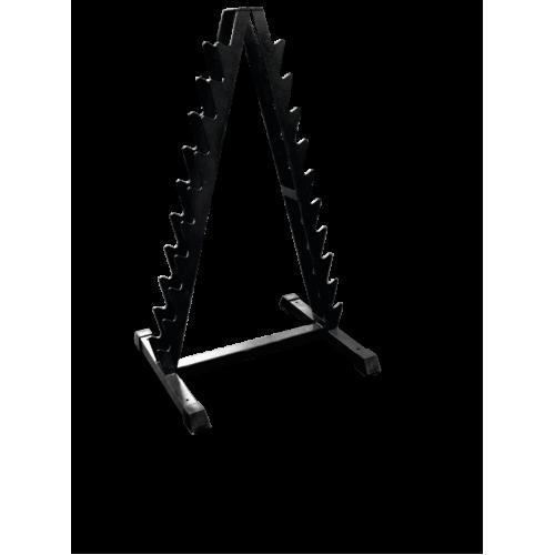 Стойка для хранения хромированных гантелей MB 1.03 черный MB Barbell