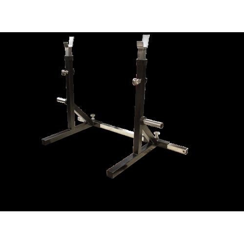Стойка с двумя позициями для штанг MB 2.11 серый MB Barbell