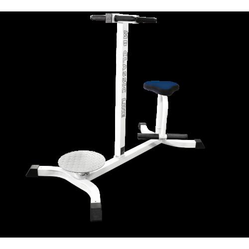Тренажер для косых мышц живота (Твистер) MB 2.12 серый MB Barbell