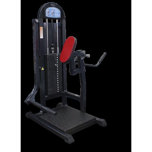 Тренажёр для ягодичных мышц в наклоне MB 3.07 серый MB Barbell