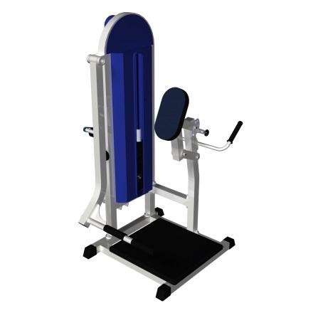 Тренажёр для ягодичных мышц в наклоне MB 3.07 N белый MB Barbell