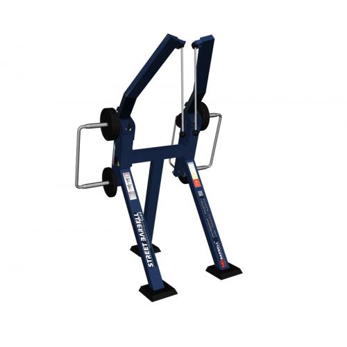 Уличные тренажеры Веревочная вертикальная тяга стоя с изменяемой нагрузкой MB 7.46 MB Barbell