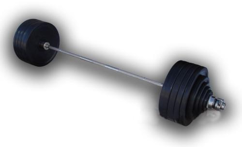 Штанга олимпийская, черная d=50мм, 180кг HARD MB-B50-180-2200 MB Barbell