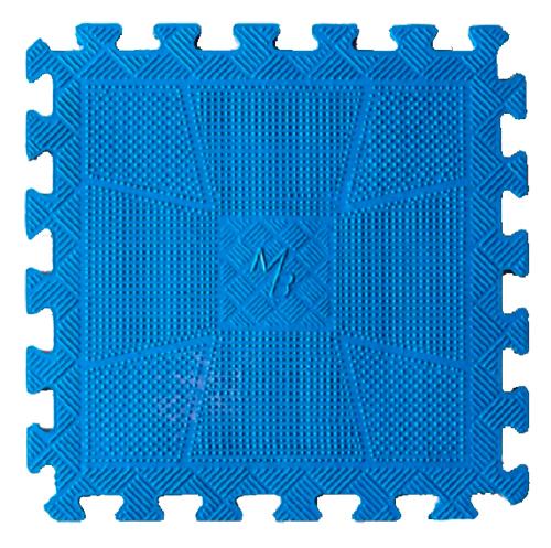 Коврик резиновый, 20мм MB-MatCL-20 синий MB Barbell