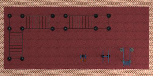 Уличные тренажеры на 110 м2 MB-M110 MB Barbell